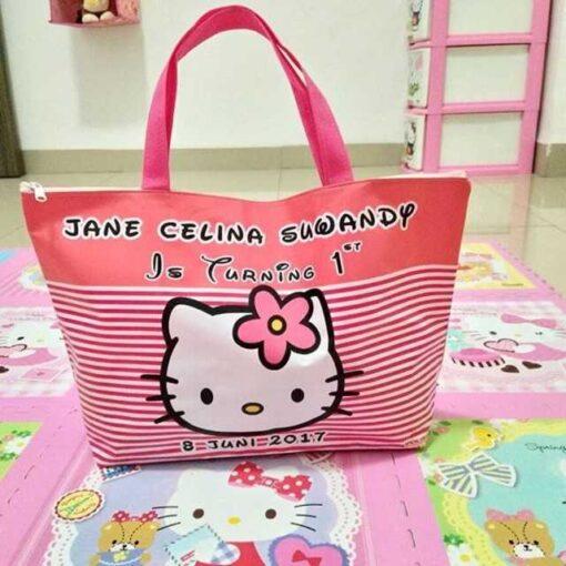 Tas Ultah Gambar Hello Kitty